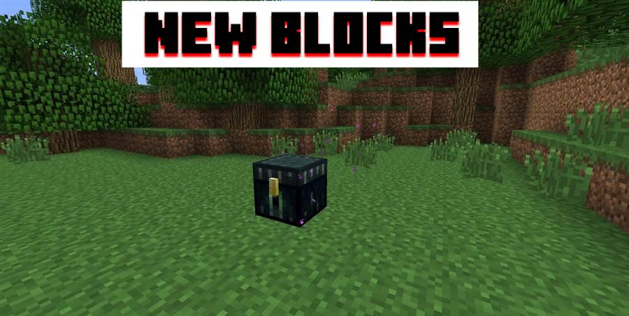 New blocks MCPE 1.0.0