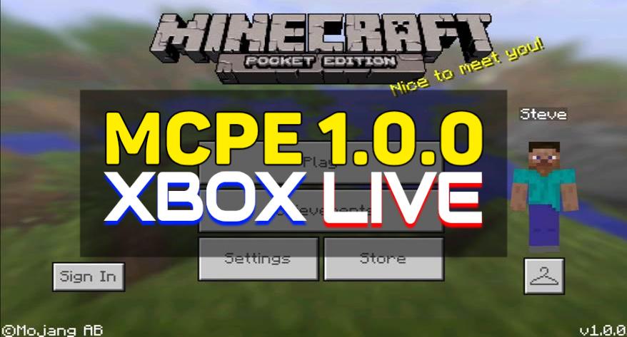 MCPE 1.0.0
