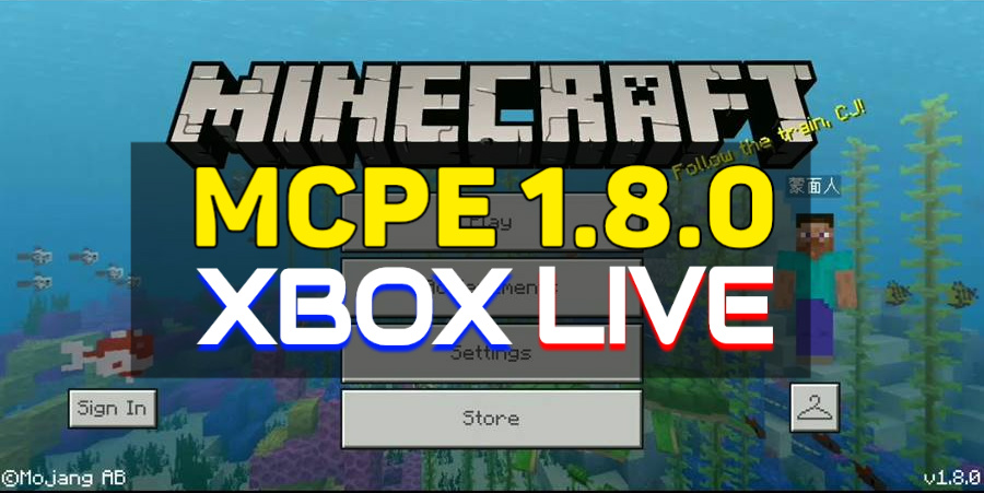Minecraft PE 1.8,0