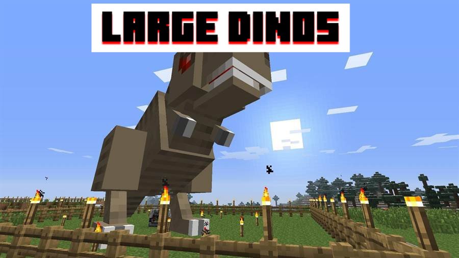 Large dinos for MCPE