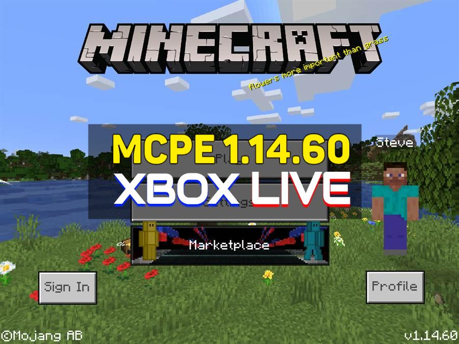 Minecraft PE 1.14.60 apk