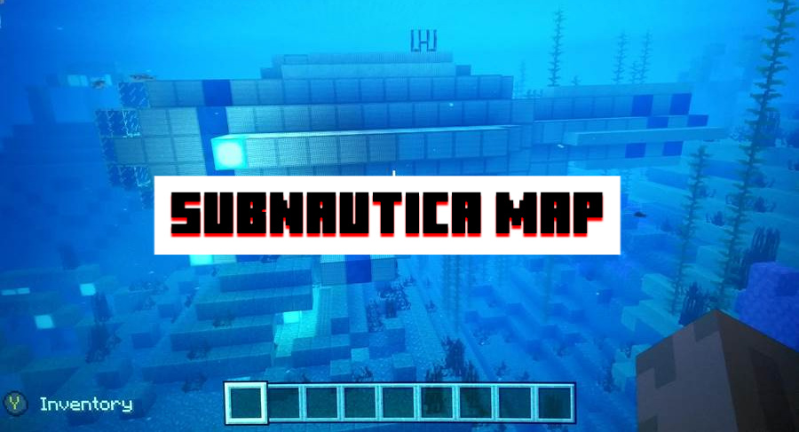 Subnautica Map for Minecraft PE