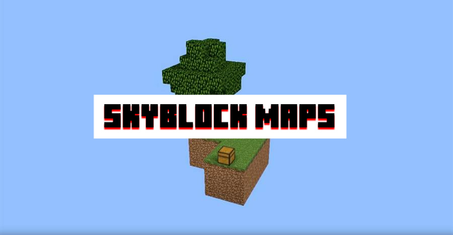 Skyblock Map for Minecraft PE