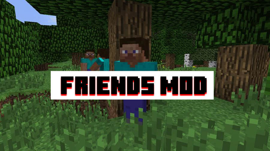 Friends Mod for Minecraft PE