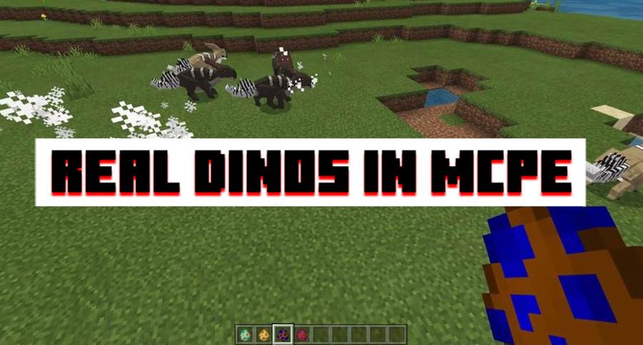Real dinos for MCPE