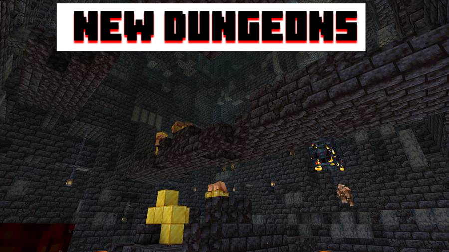 Nether Update New Structures Minecraft PE