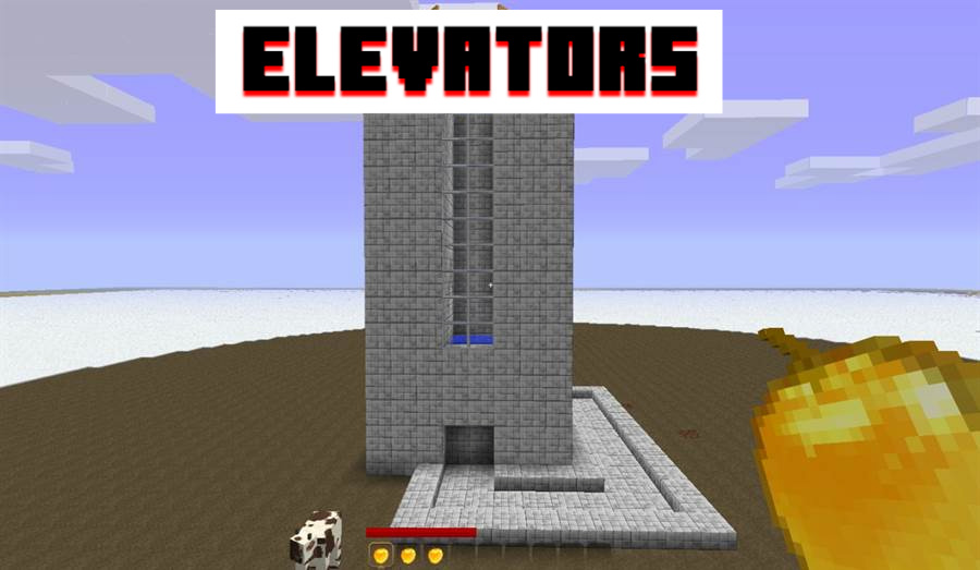 Lifts in MCPE