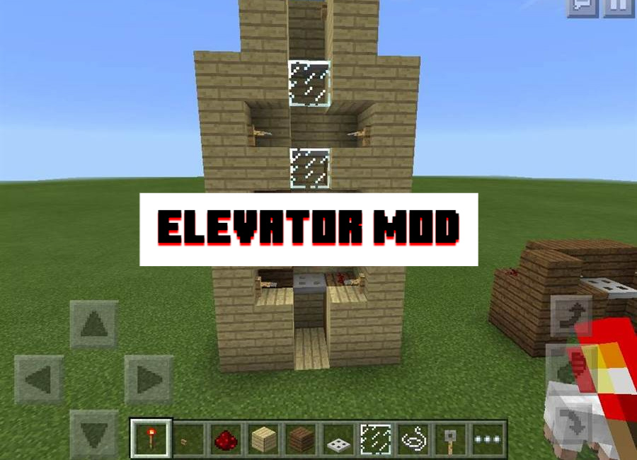 Elevator Mod for Minecraft PE
