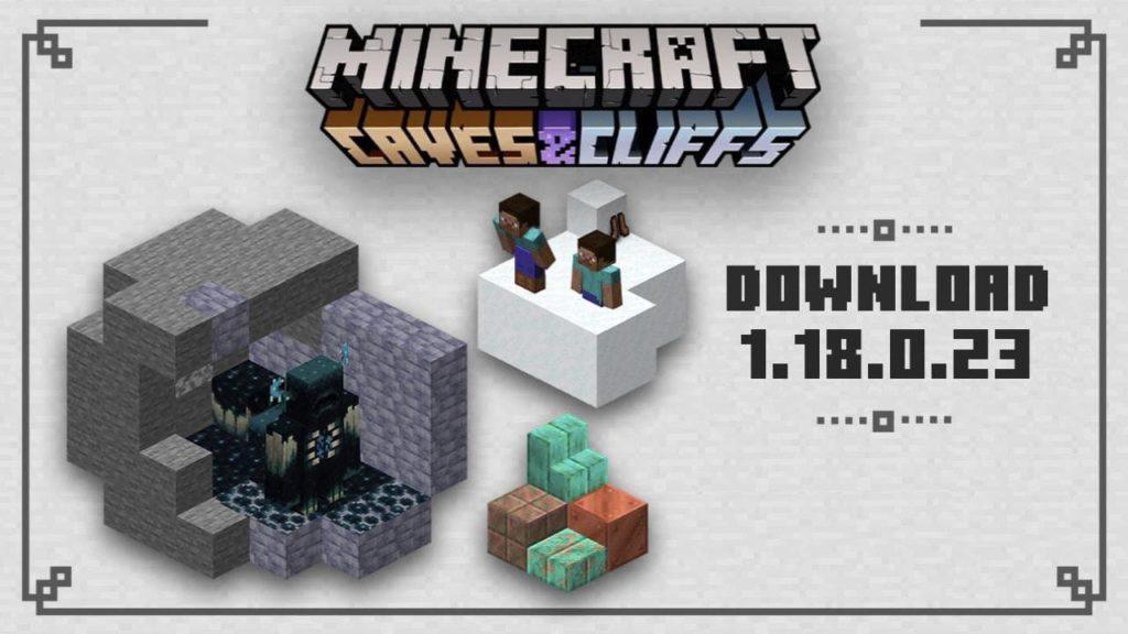 Minecraft PE 1.18.0.23