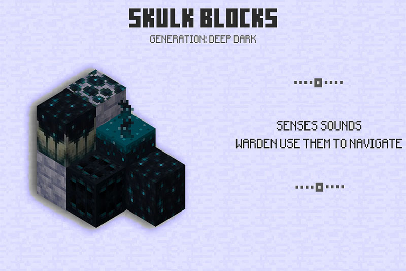 Sculk Blocks